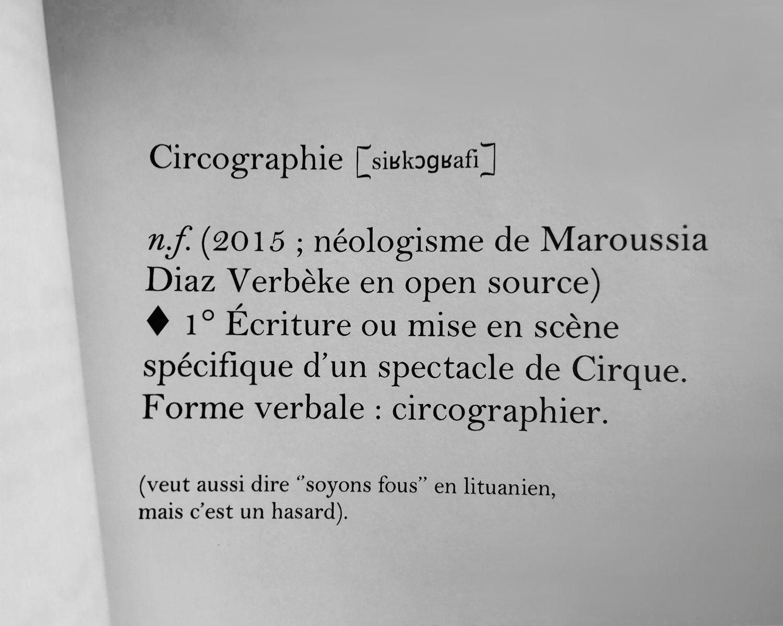 Circographie - Le Troisième Cirque
